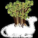 みんなの木育「木ラクダ~自然を大切にする次世代を願う。木をつなぐラクダ~」.pn