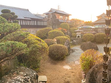 亀山市にてお庭全体お手入れのご依頼