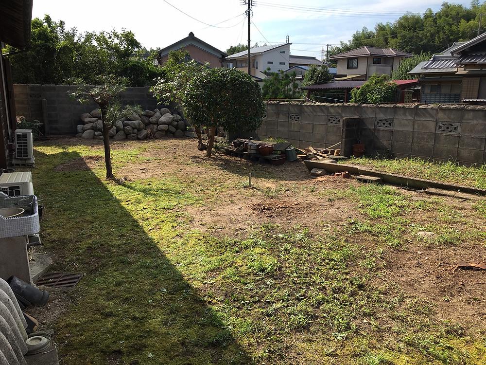 三重県四日市市にて樹木の伐採作業事例|三重県剪定伐採お庭のお手入れ専門店 剪定屋空