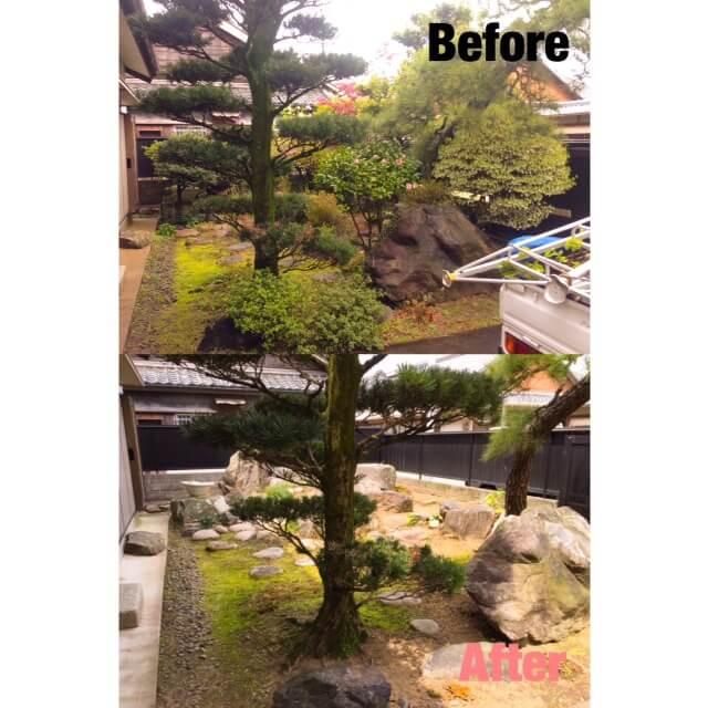 亀山市 庭木伐採
