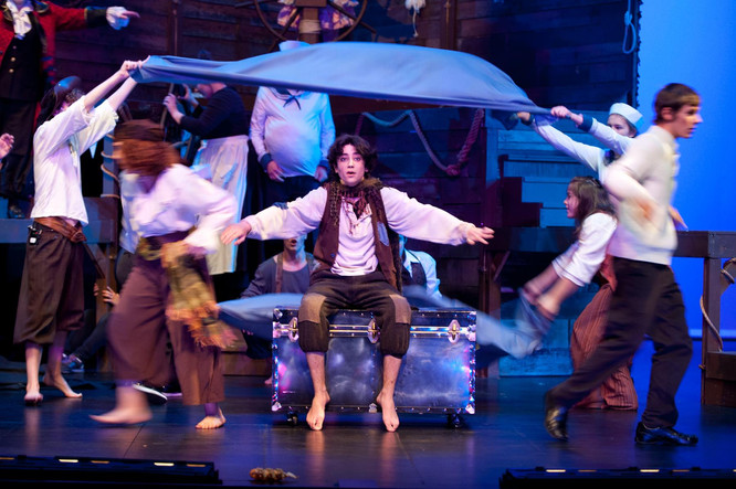 Peter and the StarCatcher by Rick Alice