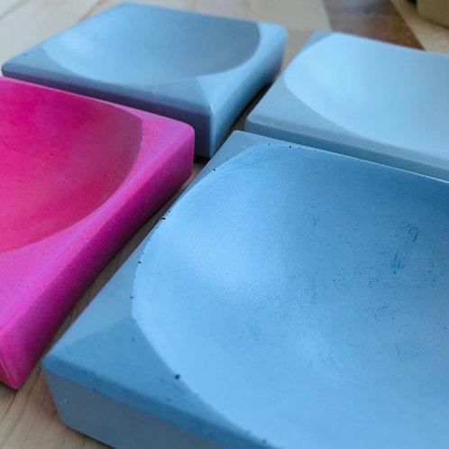 Coupelle carrée en béton Paname Workshop
