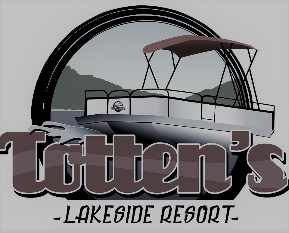 Client Logo - Totten's Resort (denim)