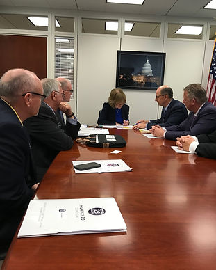 Hwy 23 Coalition D.C. Trip - Mtg. Sen. T