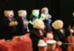 teddy bear orchestra