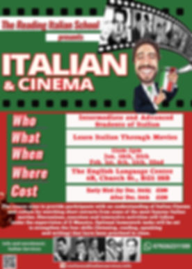 Italian & Cinema, Italian Services, The