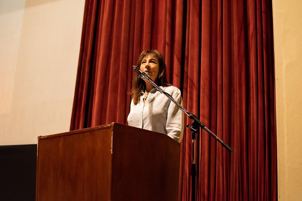 Marisa Failla, Presidenta de Inclusión Social, en la apertura de Congreso