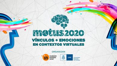 Jornadas Motus 2020: Vínculos y Emociones en contextos virtuales