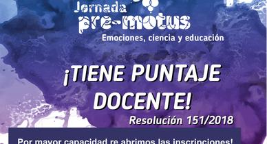 El Pre-Motus de Deán Funes ya cuenta con:          ¡¡¡Puntaje Docente!!!  ¡Inscribite!