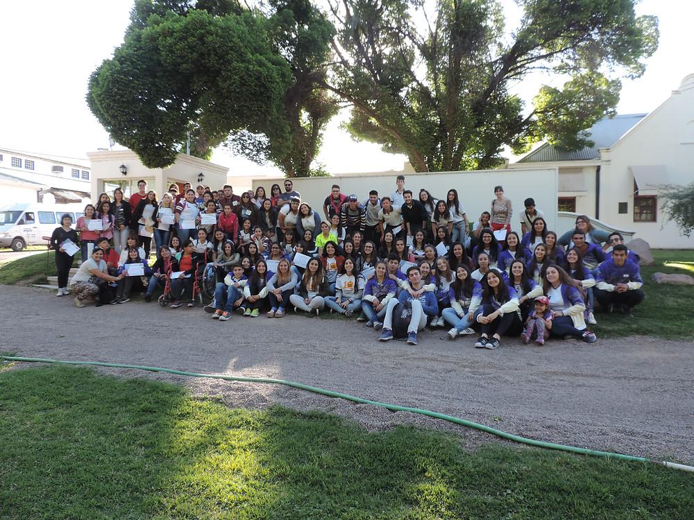 Crea Conciencia de la Escuela Juan Draghi de Godoy Cruz, Mendoza