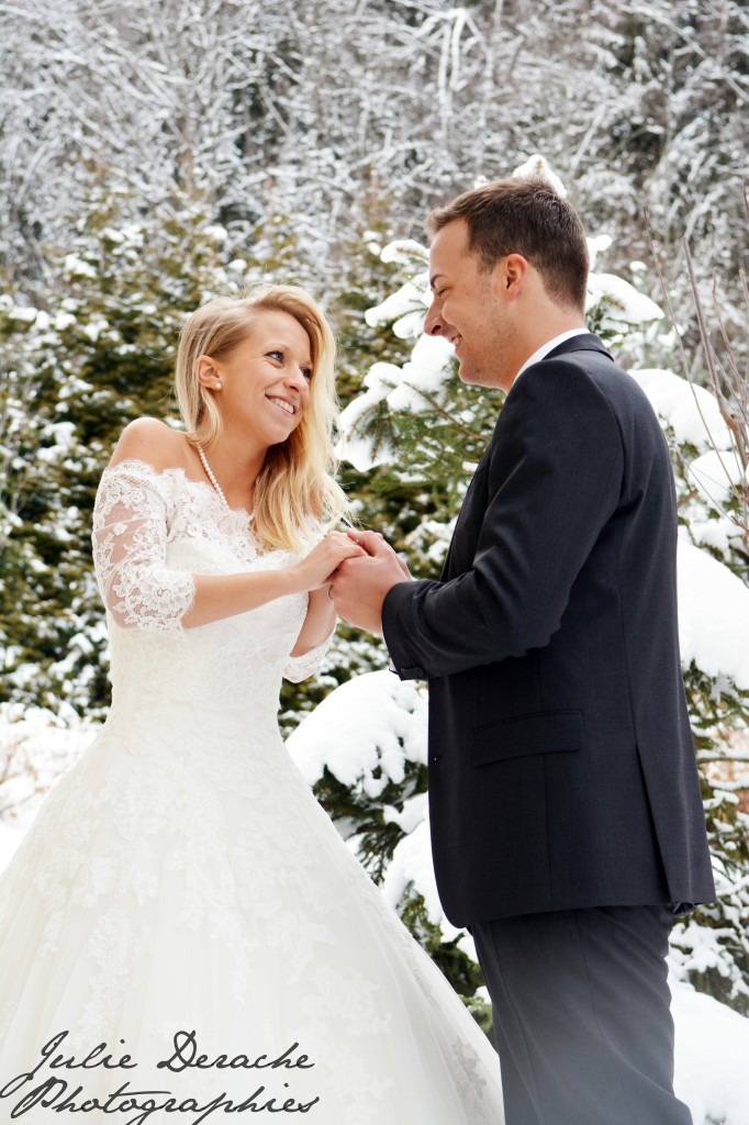 Mariée hiver