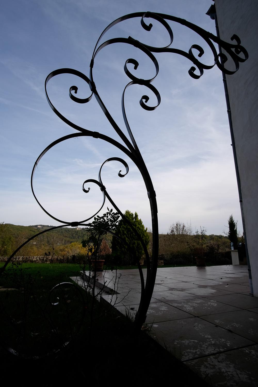 Structure pour plante