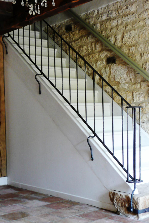 Rampe d'escalier intérieure