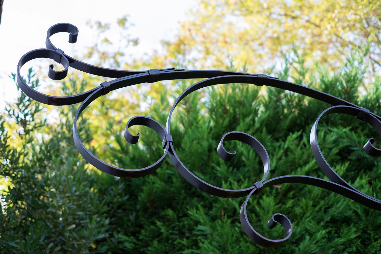 Détail structure pour plantes