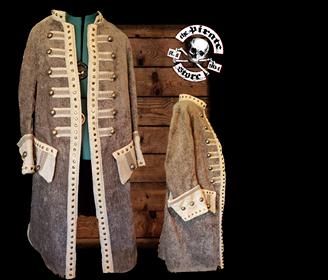 Captains Frock Coat Greybeard