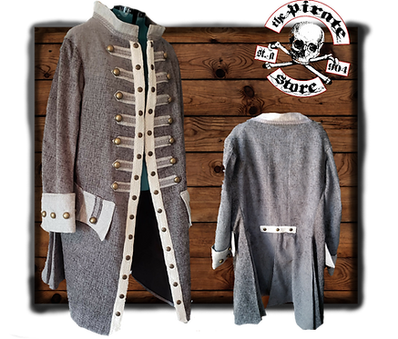 English Captains Pirate Frockcoat