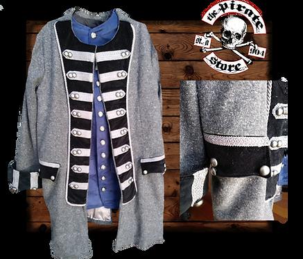 Scottish wool Captains Frock Coat