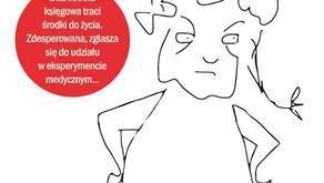 """Księgowa kontra medycyna, czyli """"Hela"""" Anny Samborskiej"""