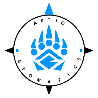 Artio Geomatics Logo - Full w Background
