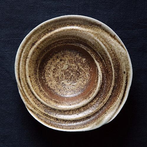 Спиральная тарелка №2, дровяной обжиг