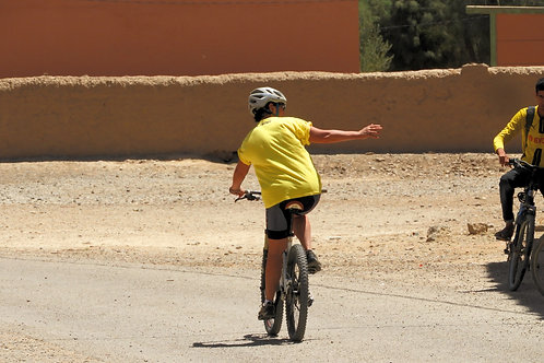 CYCLE THROUGH THE HIGH ATLAS AND SAHARA DESERT!