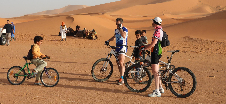 RENT BIKE IN SAHARA DESERT!
