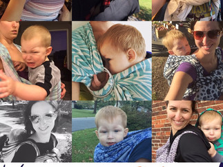 Babywearing Week (a month later)