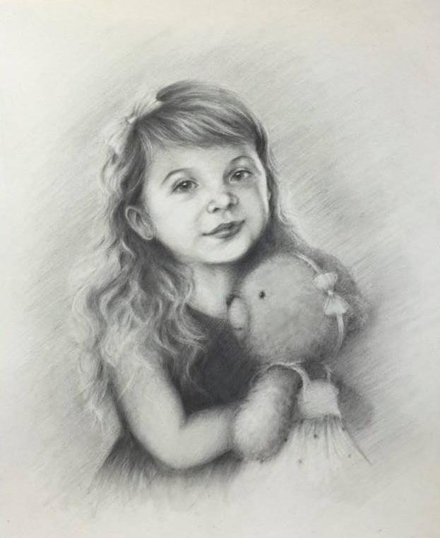 Drawing of Caralynn by Askas Artlier