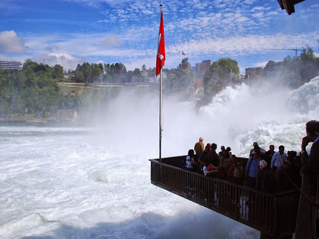 Swiss Trip - Day3 (Rhine Falls)