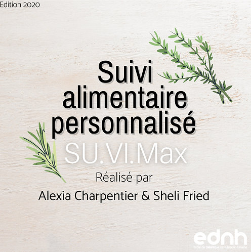 SU.VI.Max - Guide des portions alimentaires