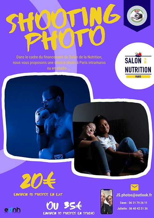 Affiche shooting photo externes - Reseau