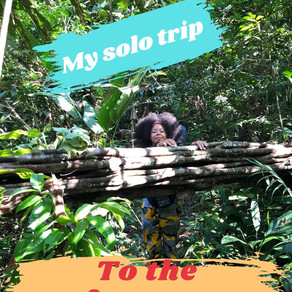 Travelling to the Amazon rainforest solo (😱) at the age of 23