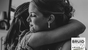 Genomineerd voor de bruidsfoto award 2020!!
