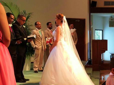 Beautiful Wedding at Bella Vista Church