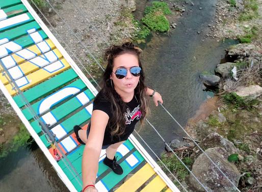 Puente Colgante & Casa Bandera, Adjuntas, Puerto Rico | Suspension Bridge & Flag House, Adjuntas, PR