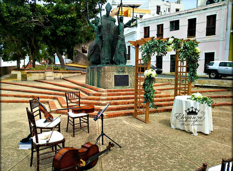 "Wedding at ""La Rogativa"", Old San Juan"