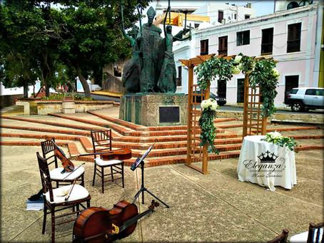 "Wedding at ""La Rogativa"", Old San Juan"