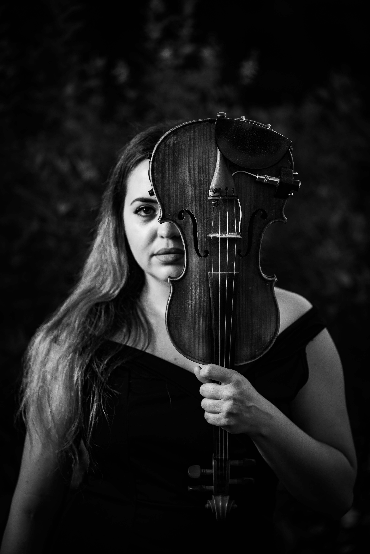 Violinist Madeline Alicea