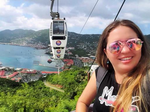 8 lugares que puedes visitar en St. Thomas CAMINANDO desde el puerto Charlotte Amalie.