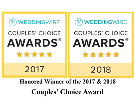 "Press Release ""Eleganza Music Services, winners two times in a row in Wedding Wire's Couple's Choice"