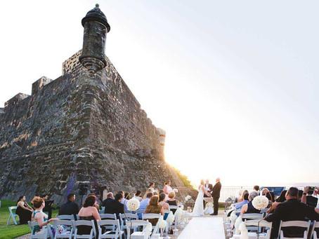 Wedding at San Cristobal, Old San Juan