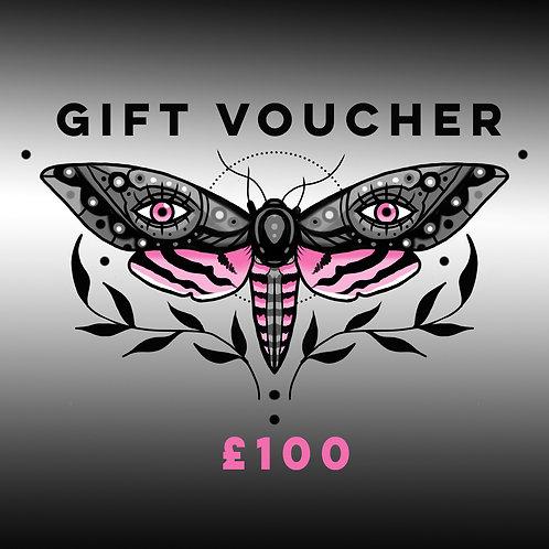 Digital Gift Voucher £100