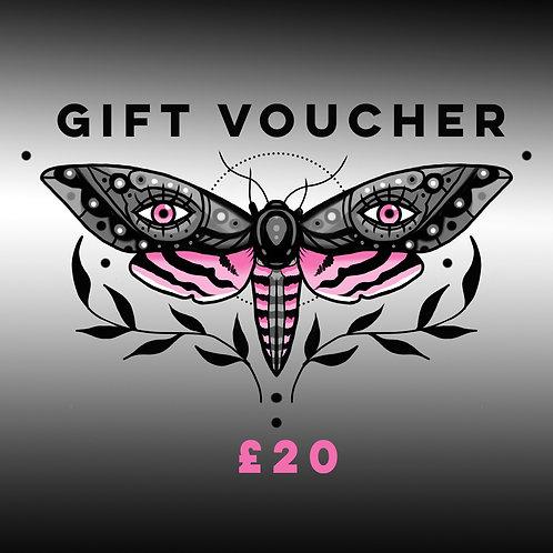 Digital Gift Voucher £20