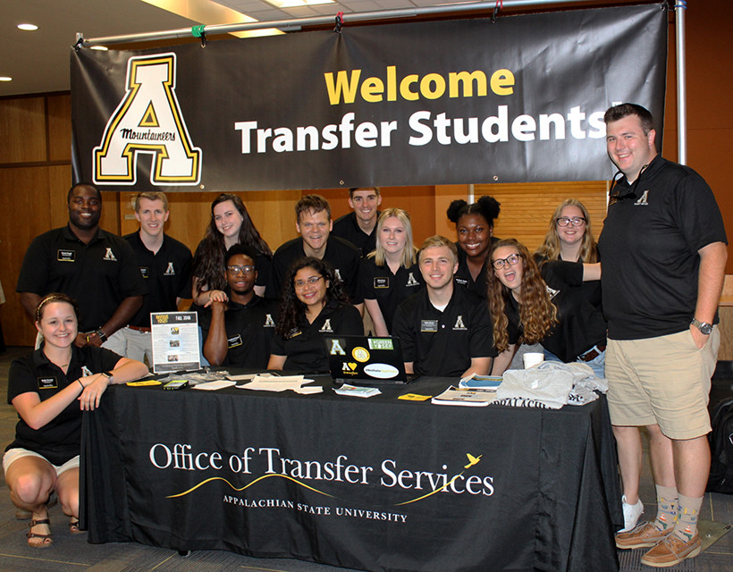 Transfer Student Mentors at App State