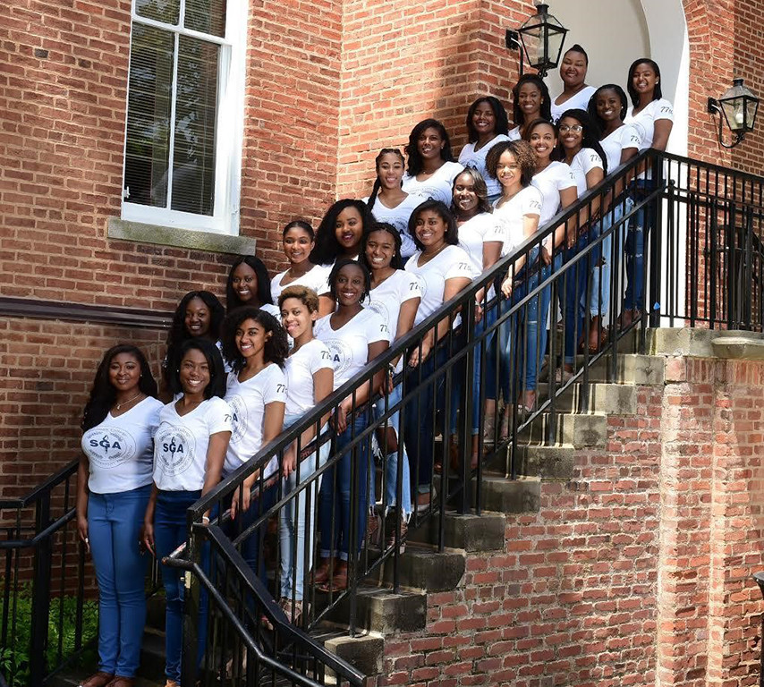 Taylor and the Spelman Student Government Association