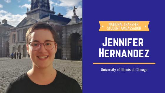 Jennifer Hernandez, 2019 Transfer Student Ambassador