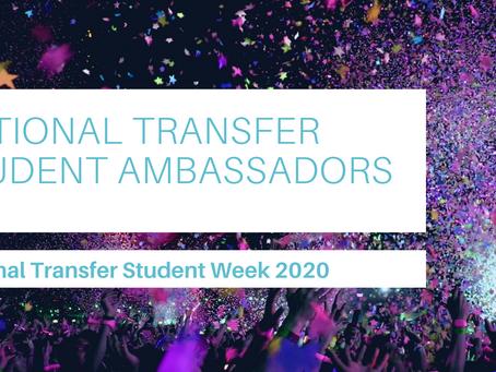 Congratulations, 2021 Transfer Ambassadors!