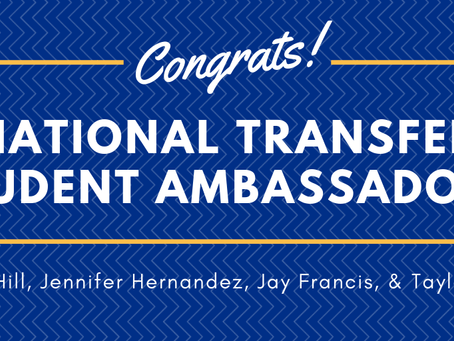 Introducing the 2019 National Transfer Student Ambassadors