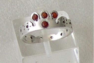 "Silver ""Kingdom Ring"""