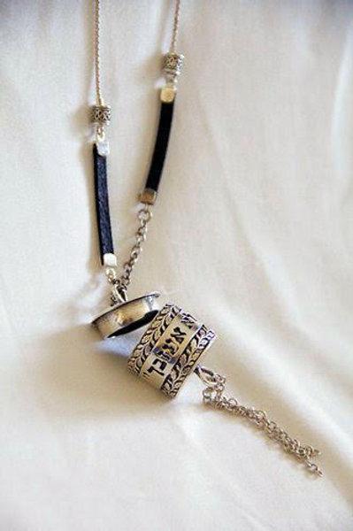 Silver Box Pendant Necklace